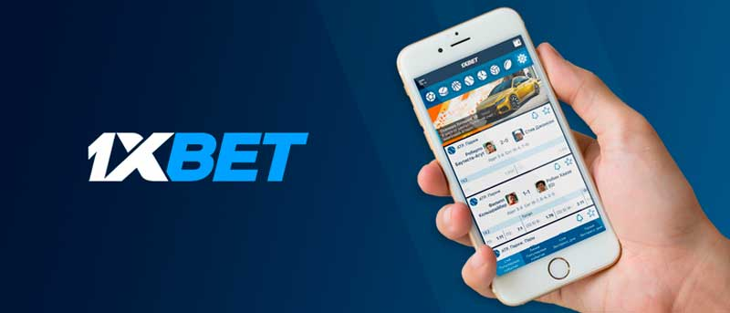 l'application 1xBet