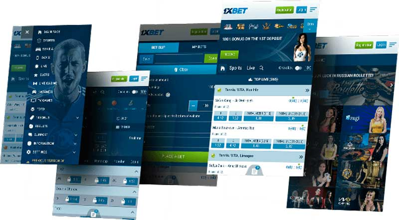 1xBet l'application mobile pour Android