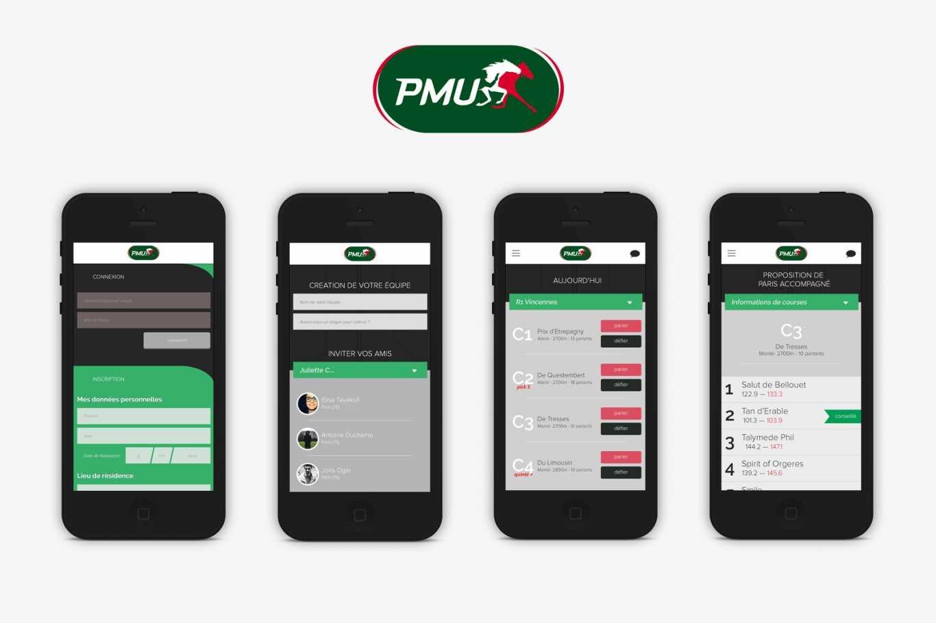 PMU parier mobile