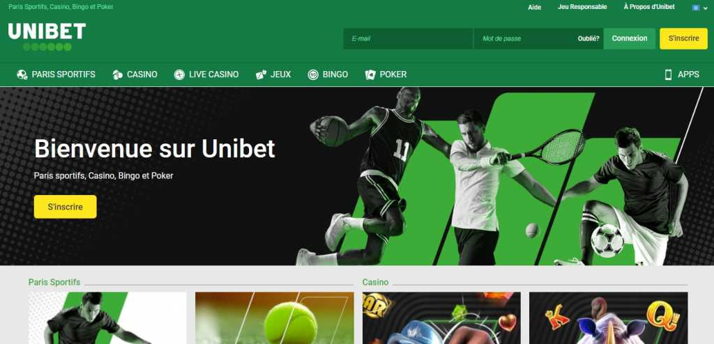 Unibet application