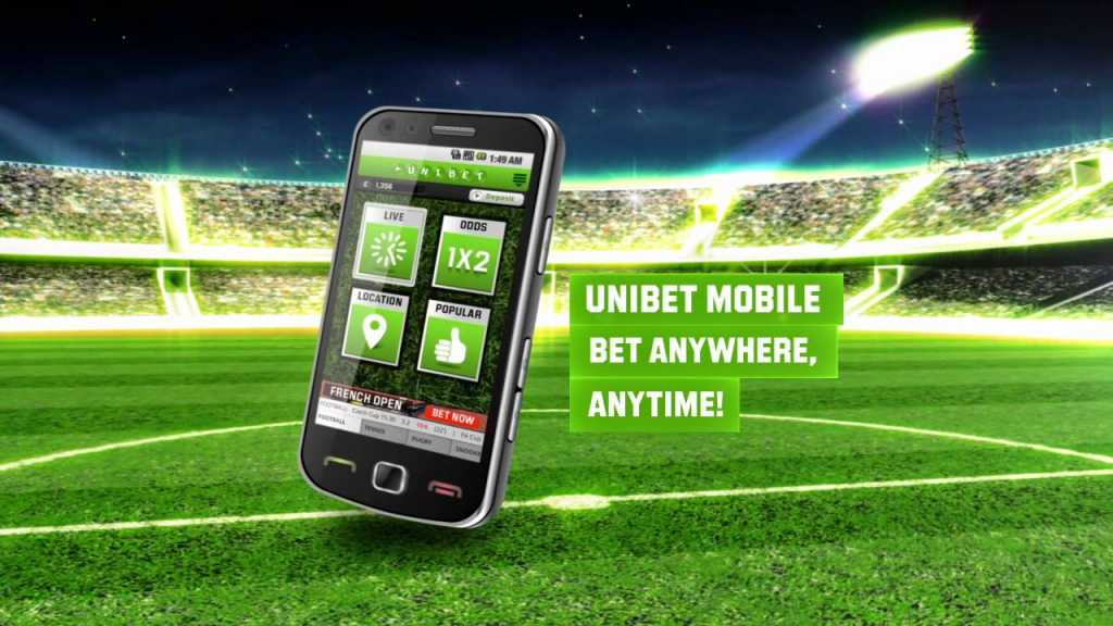 l'application Unibet
